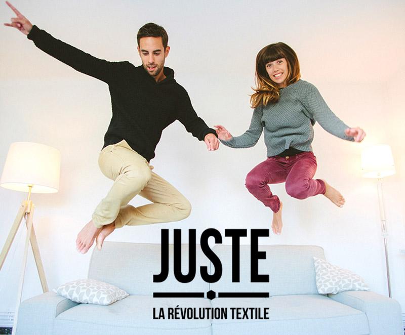 Juste, la révolution textile vu par L'Atelier Green