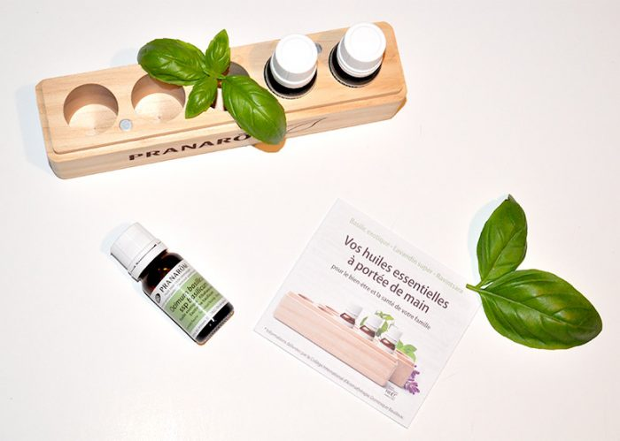 La Pranabox est ses huiles essentielles bio