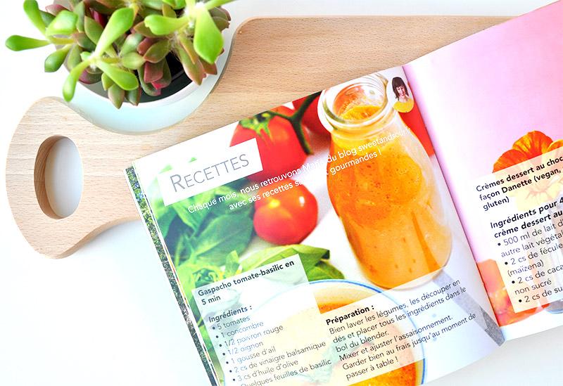 Dans La NUOO box, découvrez chaque mois des recettes Saines et gourmandes en mode Green. Un vrai bonheur