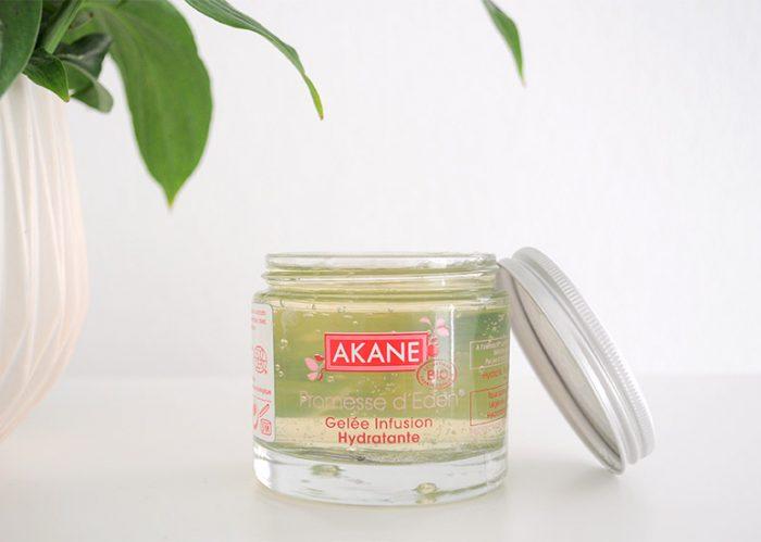 Gel Akane, un cocktail d'antioxydants qui nourrit et régénère la peau
