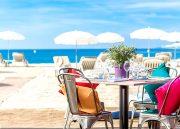 Le Resto-Plage du 3.14 Hôtel, la seule plage à proposer une carte Bio et sans gluten! En mode Green, Glam et Chic