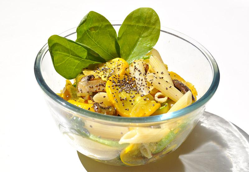 L'Atelier Green vous invite à découvrir sa poêlée ensoleillée aux légumes d'été réalisée avec la GreenPan