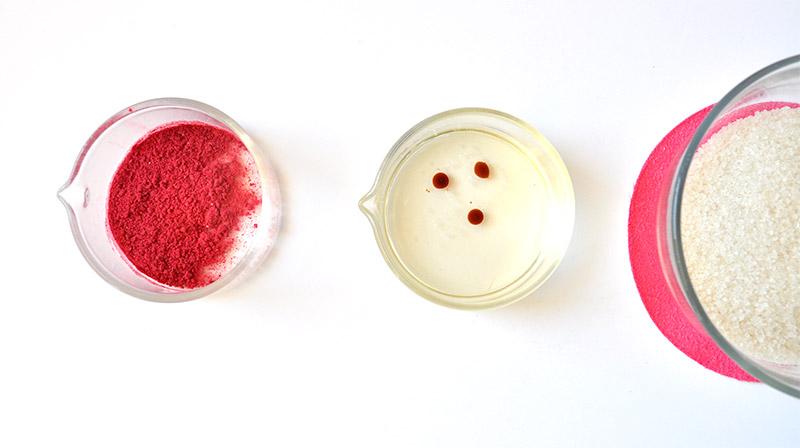 Gommage pour les lèvres trop gourmand: Raspberry lip Scrub sur L'Atelier Green DIY Cosmétiques en folie!!!