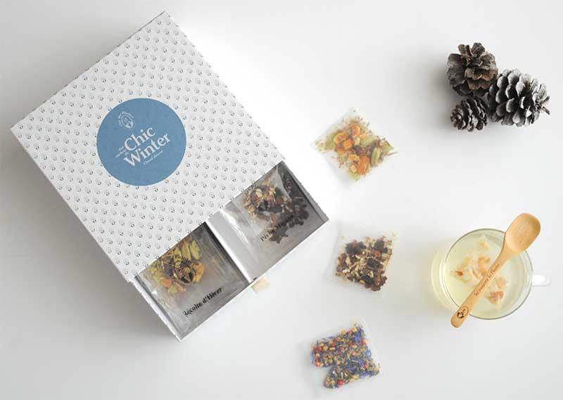 Chaud devant! Les infusions de Chic des Plantes s'invitent dans votre salon pour Noël!