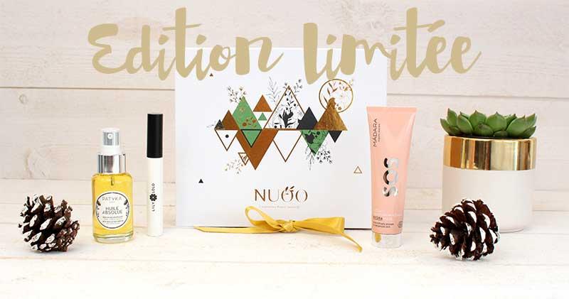 Un coffret en Édition Limitée avec des produits d'exception pour un cadeau de Noël en Mode Beauté Chic au naturel