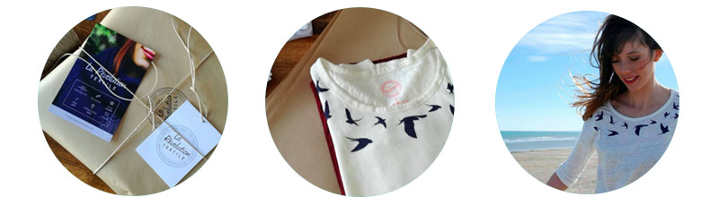 Une belle idée cadeau green et glam pour mamans fashion avec La Révolution Textile