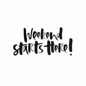 Beau et long weekend  toutes et tous !hellip