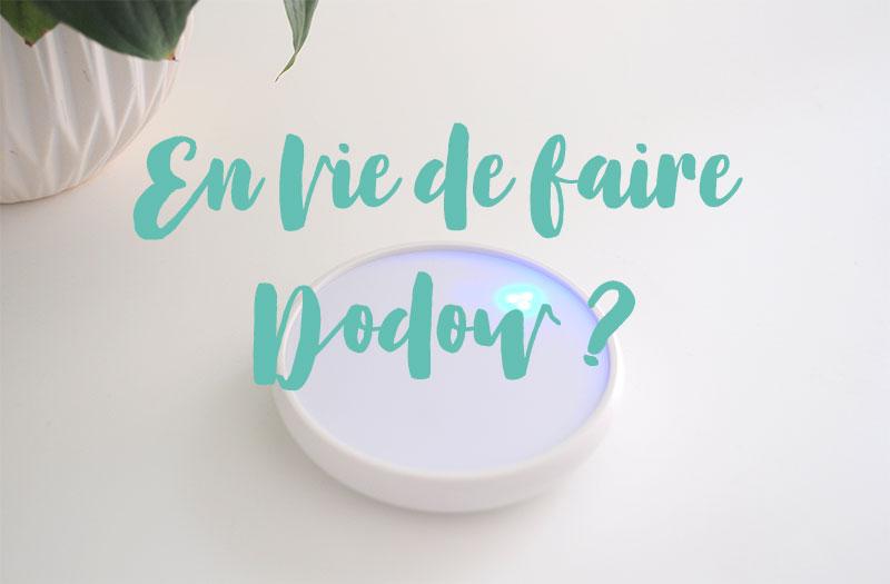 Dodow, un objet désign et innovant pour vous accompagner vers l'endormissement