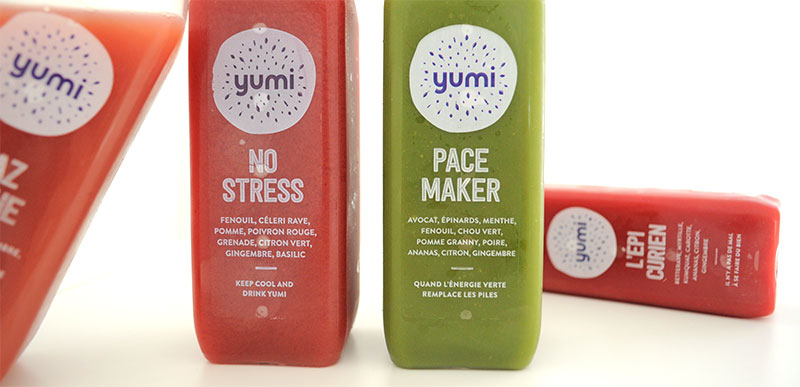 Yumi drinks : Des recettes pensées avec une naturopathe