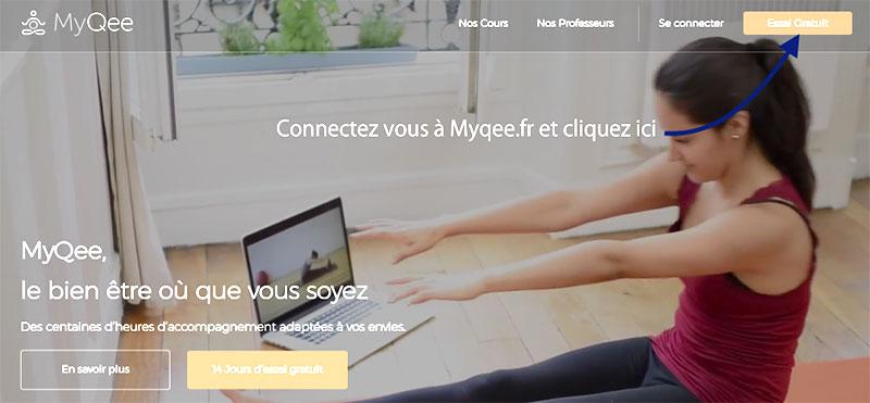 myqee cours de pilates et yoga en ligne l 39 atelier green. Black Bedroom Furniture Sets. Home Design Ideas
