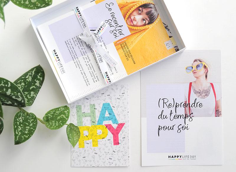 Bien-être: Happy Life box est née de l'envie de démocratiser et de rendre accessible le développement personnel en étant accompagné par des coachs professionnels. Rayonnante et pleine de vie elle vous accompagnera, tel un petit ange gardien, vers une vie plus épanouie.