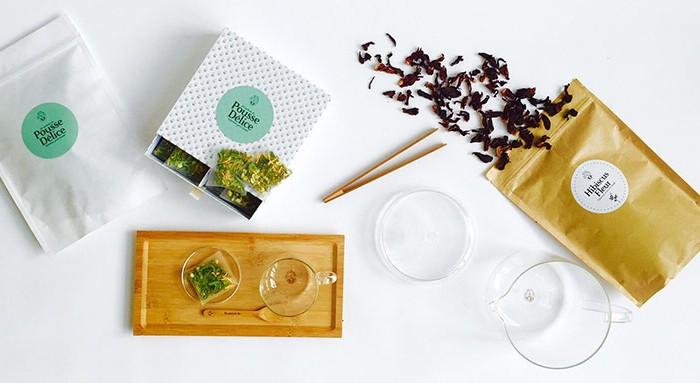 Chic-des-plantes-infusions jamais bu : Une idée de cadeaux de Noël Green, Glam et gourmande