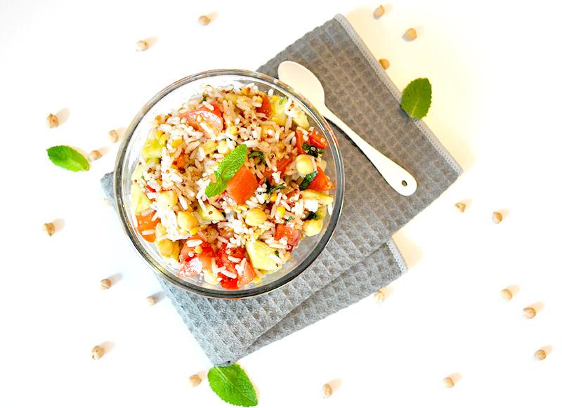 Une belle recette de Taboulé au Quinoa Vegan et healthy pour une alimentation plus saine