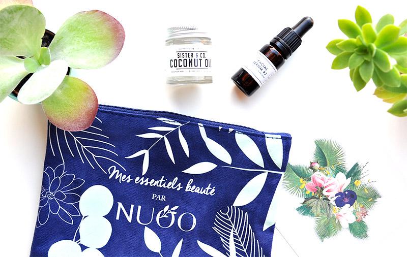 En juin, la Box Nuoo se transforme en une jolie trousse de voyage pour l'été remplie de cosmétiques naturels, bio ou vegan. Venez vite la découvrir sur L'Atelier Green