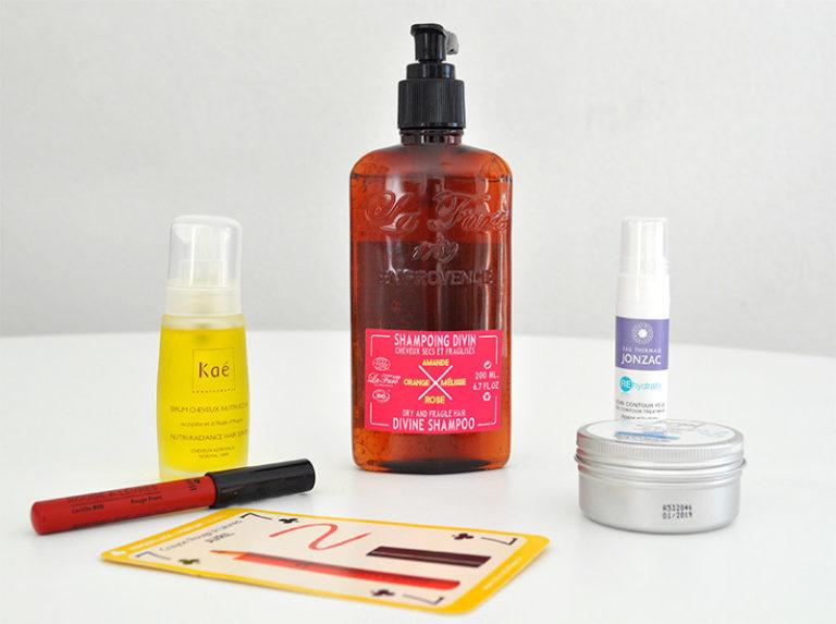 La première box 100% bio : La Biotifull Box avec des produits full size à découvrir sur L'Atelier Green
