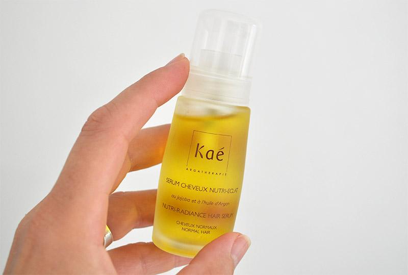 Le sérum nutri éclat de chez Kaé à découvrir sur le Blog de L'Atelier Green. Des cosmétiques bio et naturels