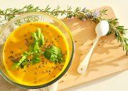 Ma petite soupe de carotte pour faire le plein de vitamines et d'antioxydant sur le blog de L'Atelier Green