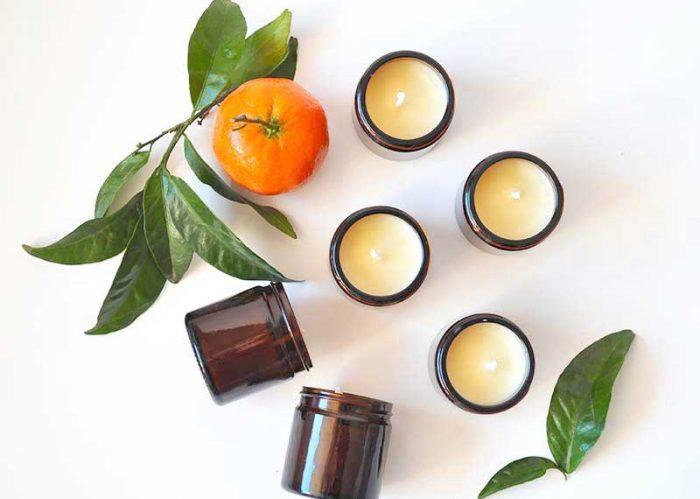 Comment réaliser des bougies de Noël, vegan, naturelles, parfumée?