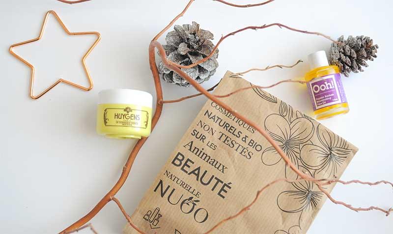 Découvrez la magnifique sélection de décembre de la NUOO Box