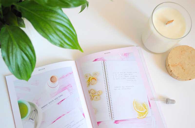 Retrouvez les recettes DIY Olerum Vera dans leur livret simple et facile à réaliser