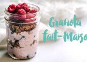 Découvrez une délicieuse recette de granola maison sur le blog de l'Atelier Green