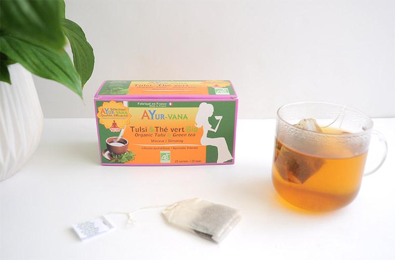 Ayurveda : Le thé vert contribue à la perte de poids