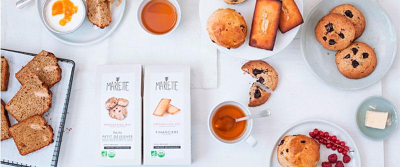 Invitation à la gourmandise avec les coffrets brunch et goûter Marlette ! Une belle idée de cadeau de Noël pour les gourmands !