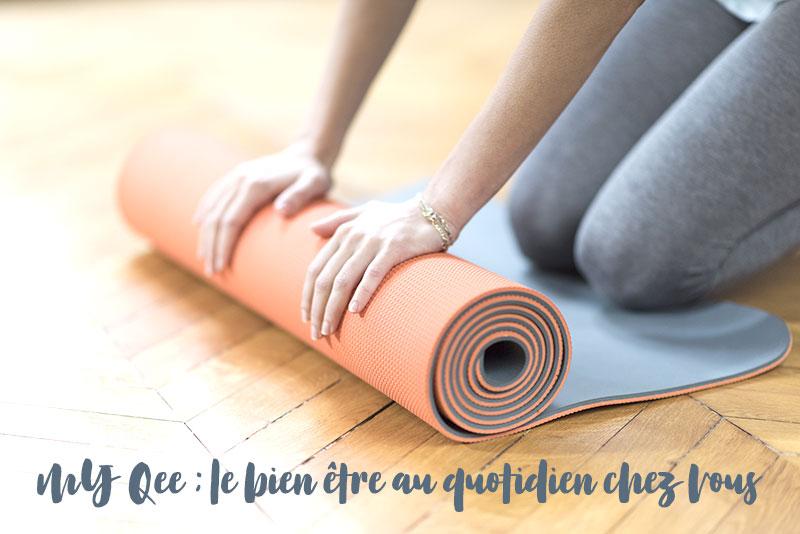 My Qee : plateforme de cours en ligne de yoga et pilates