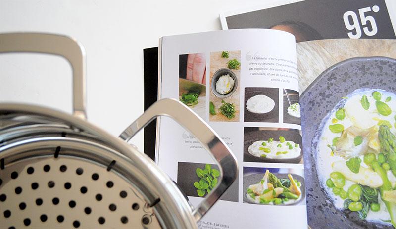 Le vitaliseur de Marion Kaplan est un cuiseur vapeur hors norme qui propose de très nombreux avantages, tant sur le plan de la qualité des aliments, que sur le plan pratique du produit.