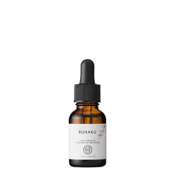 Sérum de Nuit Réparateur RUHAKU sérum anti-âge riche en vitamine E et en huile d'argan, empêche la peau de s'oxyder
