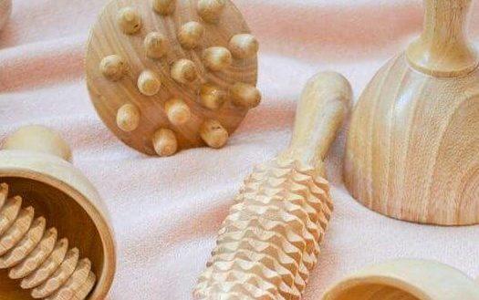 madérothérapie : les outils du massage corps